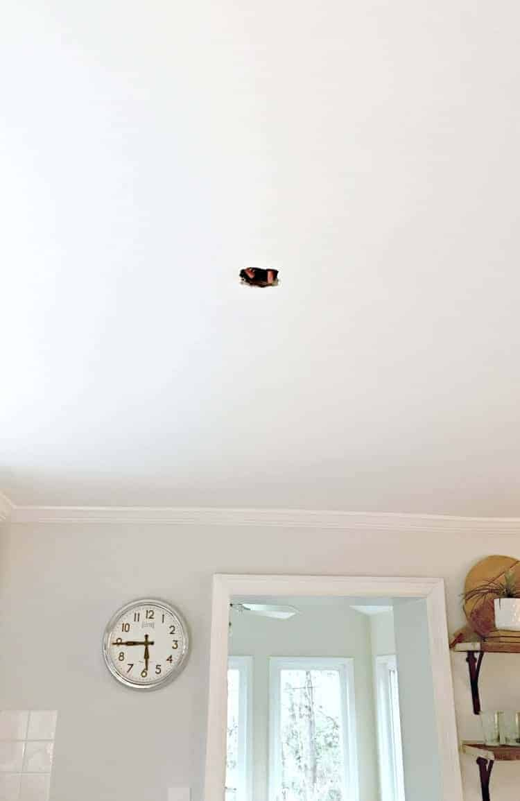 New Kitchen Ceiling Light | Chatfield Court