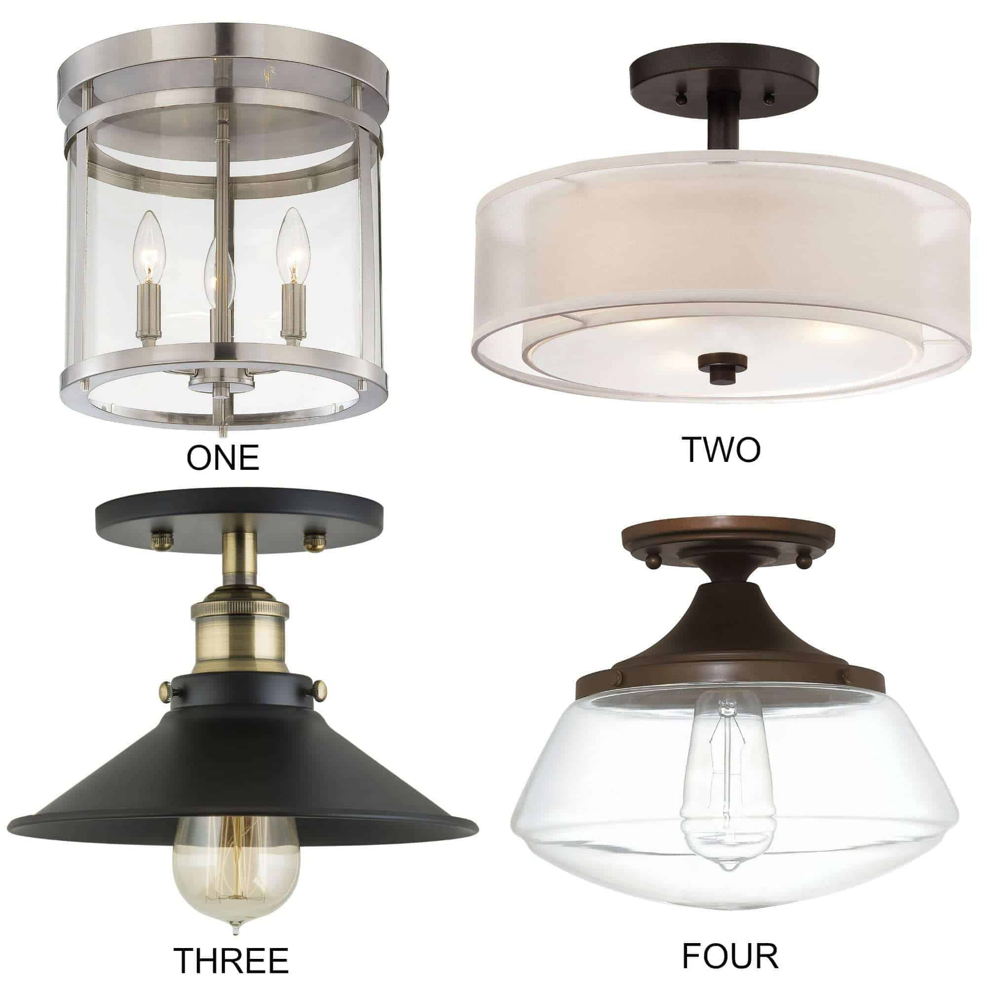 8 Flush Mount Kitchen Lighting Fixtures Ideas That Will Add That Farmhouse  Style To Your Space ...
