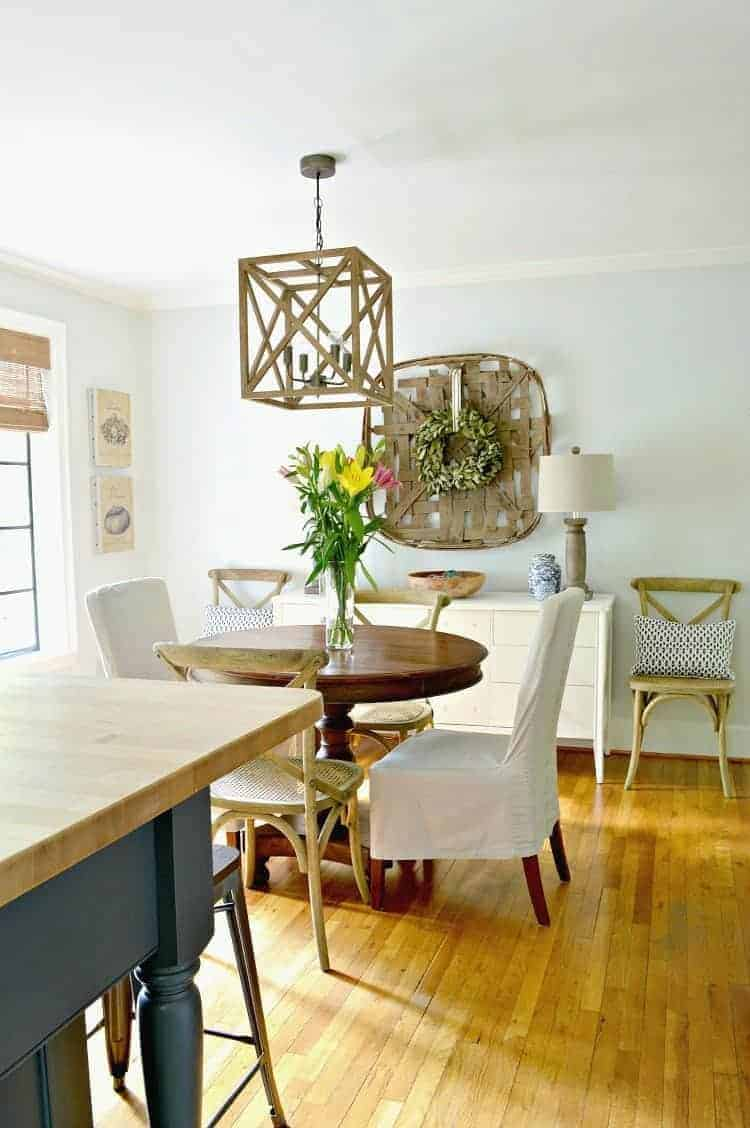 Dining room renovations