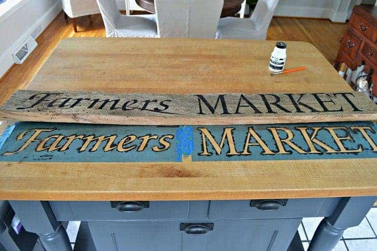 DIY Wood Sign for the Kitchen