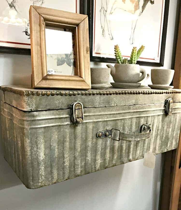 Galvanized metal is a hot trend right now. Check out how you can use galvanized metal containers and decor around the house.
