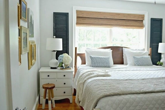 Easy Way to Reuse Old Wooden Shutters