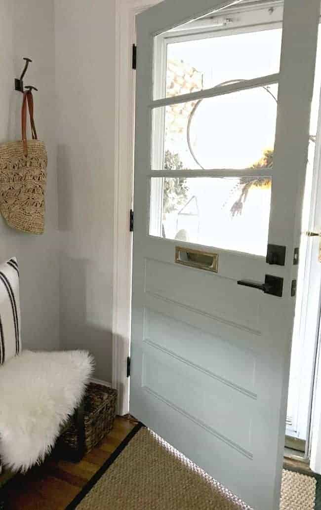 Farmhouse Style Front Door