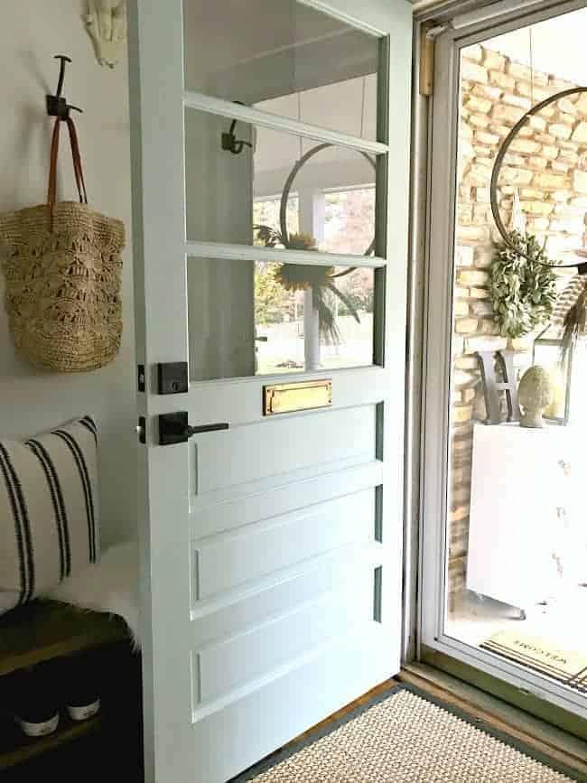 Farmhouse Style Front Door