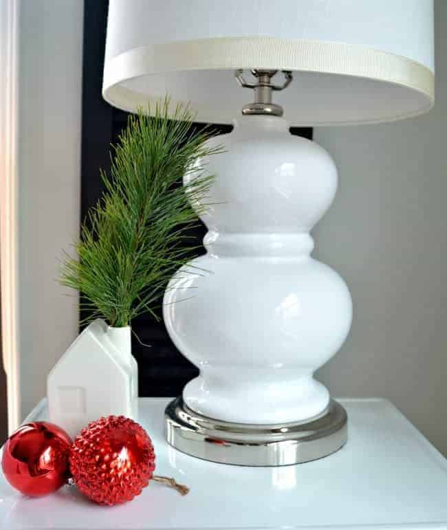Sharing our cottage Christmas decor in this tour of a tiny master bedroom, plus a few easy Christmas decorating tips.