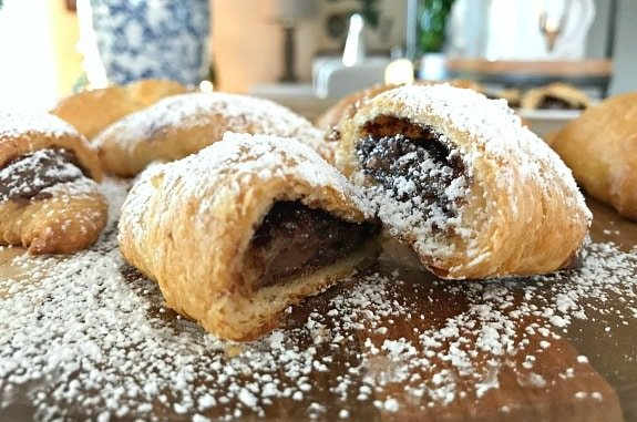 Easy Sweet and Salty Nutella Crescent Rolls