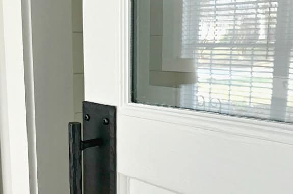 Frosted Glass Bathroom Barn Door (From Epic Fail to Success)