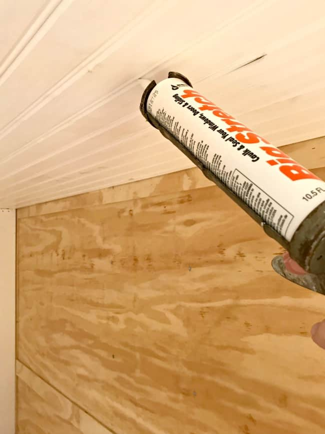 How To Install A Wood Plank Ceiling In An Rv