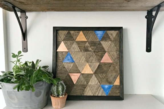 How to Make Copper and Wood Wall Art