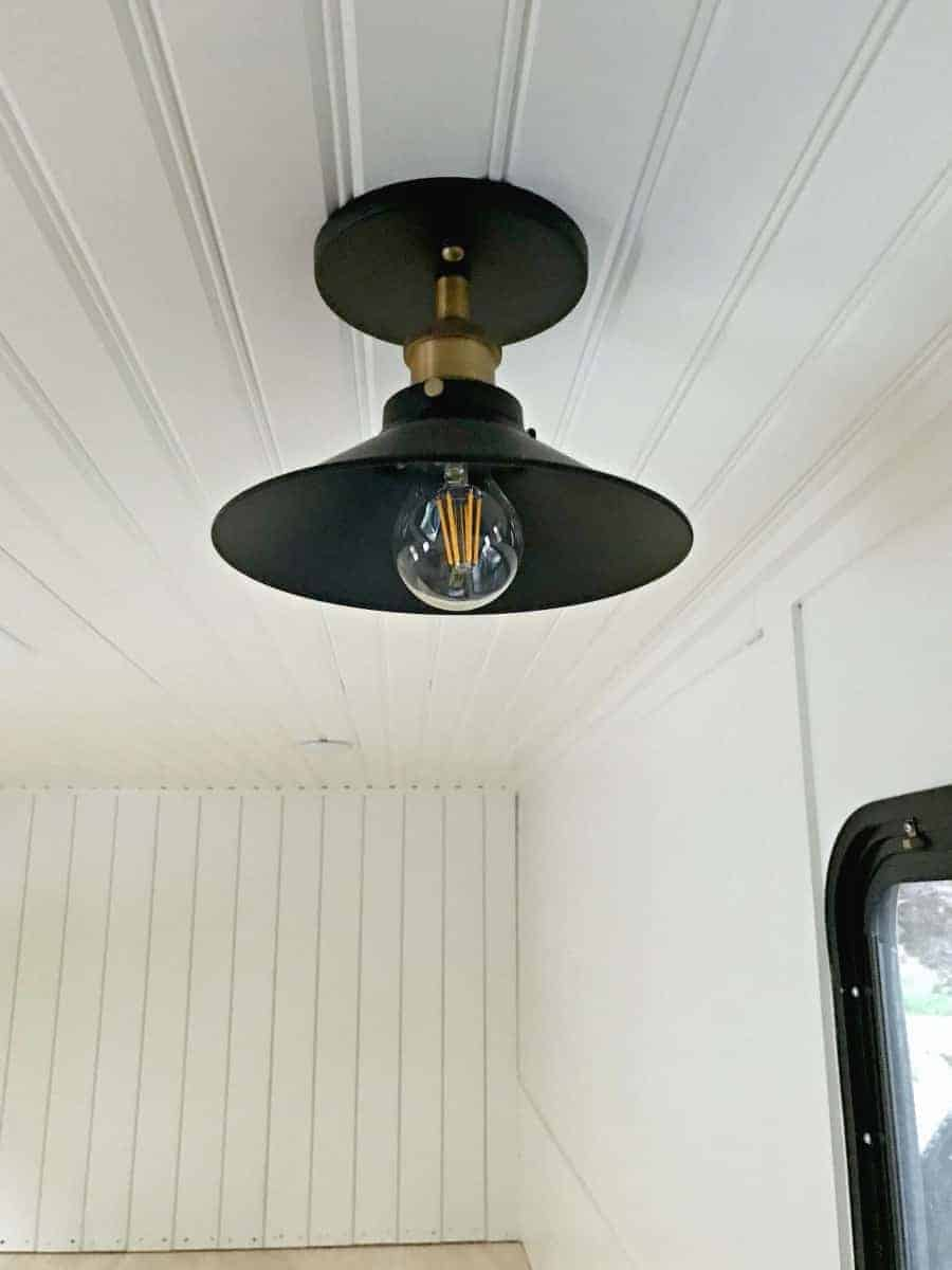 new bronze ceiling fixture for our RV renovation