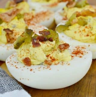 The Best Ever Deviled Eggs