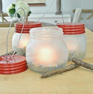 How to Make Mason Jar Lanterns and Celebrating My Fave Summer Destination