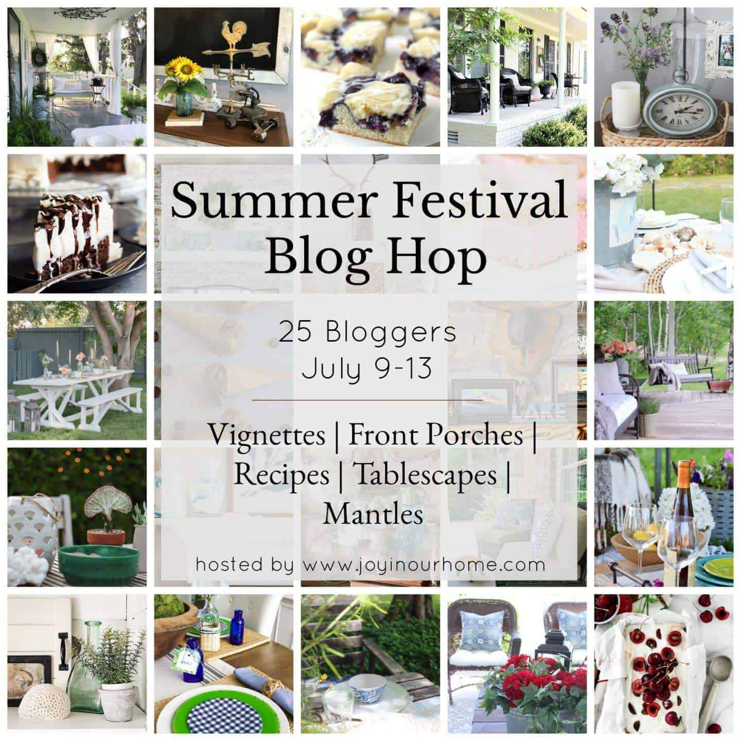 Summer Festival Blog Hop graphic