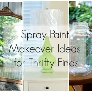 Easy Spray Paint Makeover Ideas for Thrifty Finds