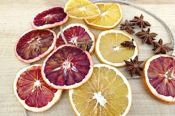 Easy DIY Dried Orange Slice Ornaments with Star Anise