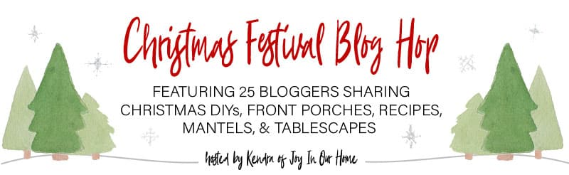 Christmas Festival Blog Hop graphic