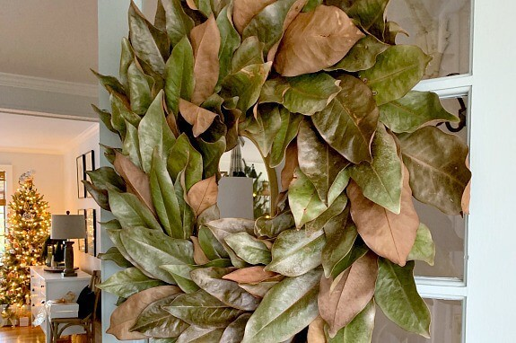 An Easy And Cheap Diy Magnolia Wreath Chatfield Court