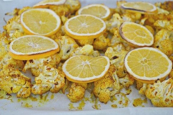 Turmeric Oven Roasted Cauliflower Recipe