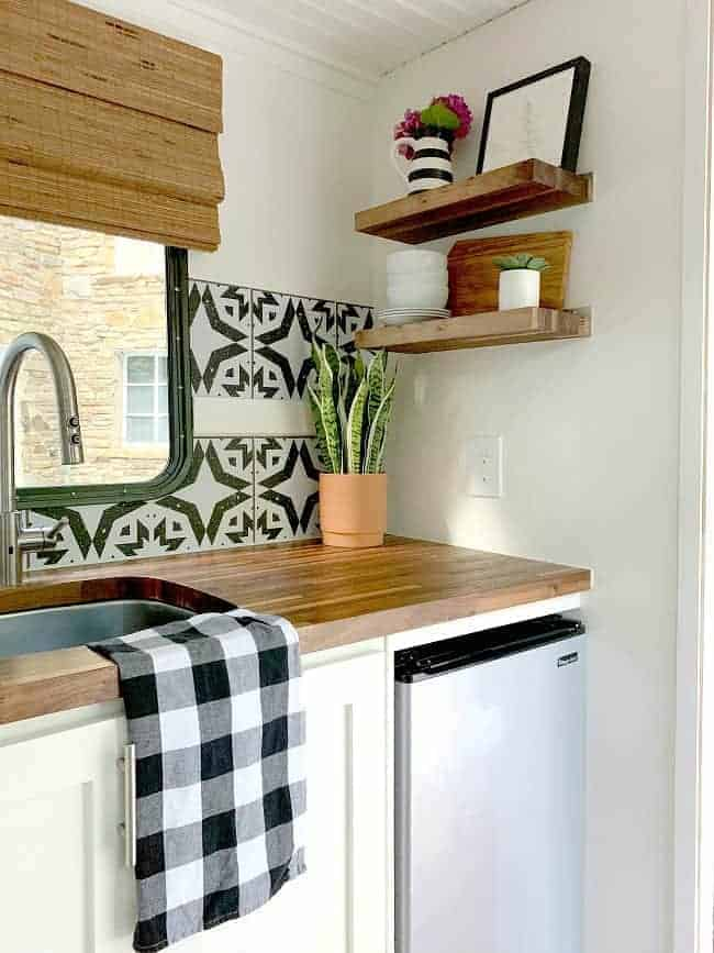 Rv Kitchen Backsplash Must Love Camping