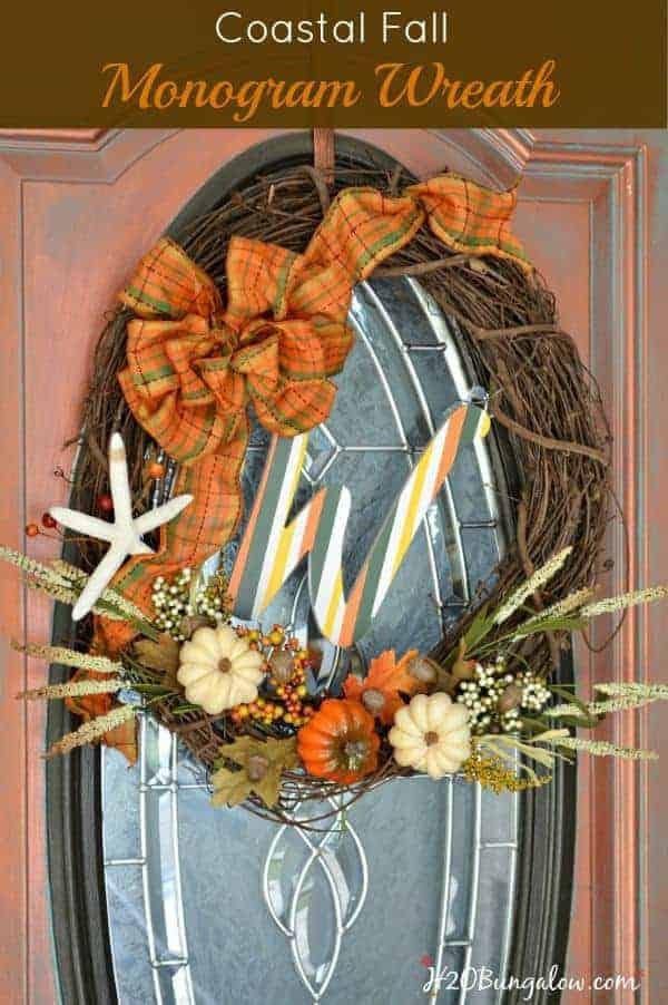 Coastal Fall Wreath