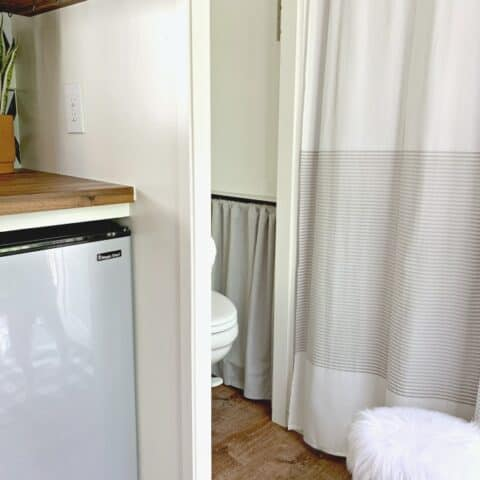 Cheap No Sew Curtain for the RV