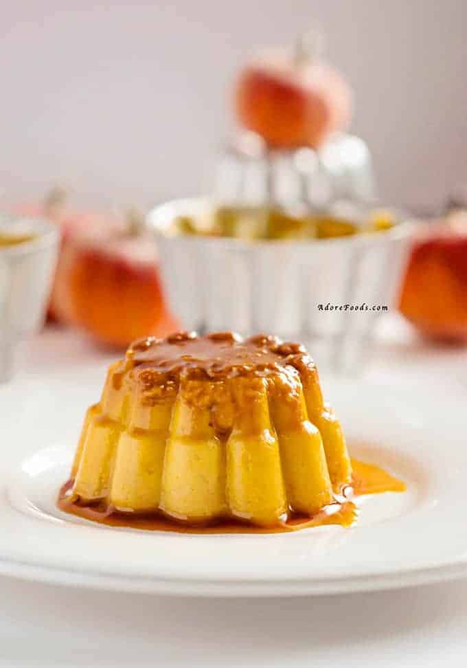 Pumpkin Flan Recipe (Flan de Calabaza Receta)