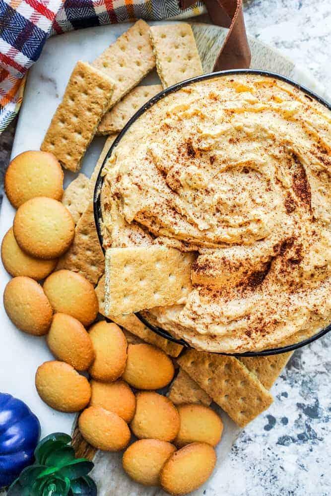 Pumpkin Cheesecake Dip: No-Bake Dessert Appetizer