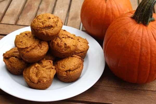 Pumpkin Almond Butter Muffins