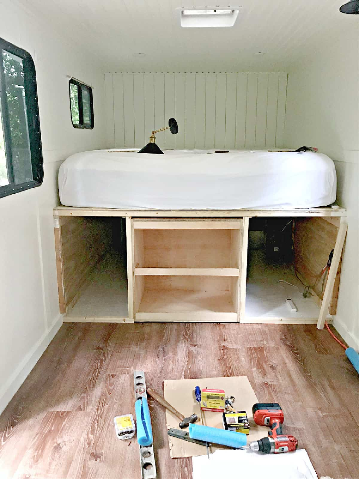 RV platform bed