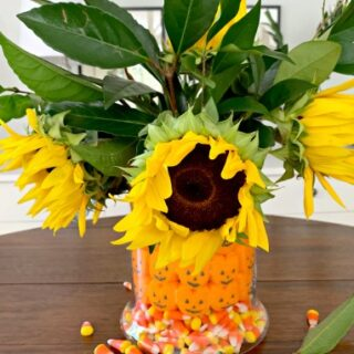Fun Halloween Candy Centerpiece DIY