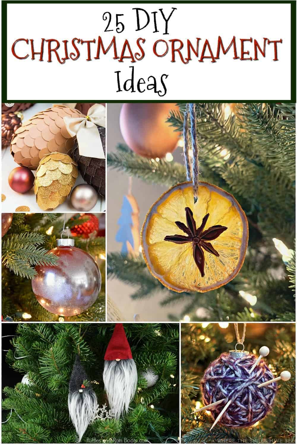 DIY Christmas Ornament Ideas – Chatfield Court