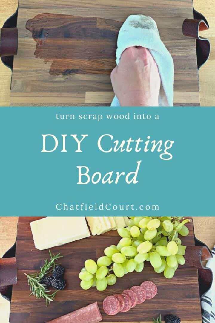 conditioning a DIY cutting board and good on cutting board