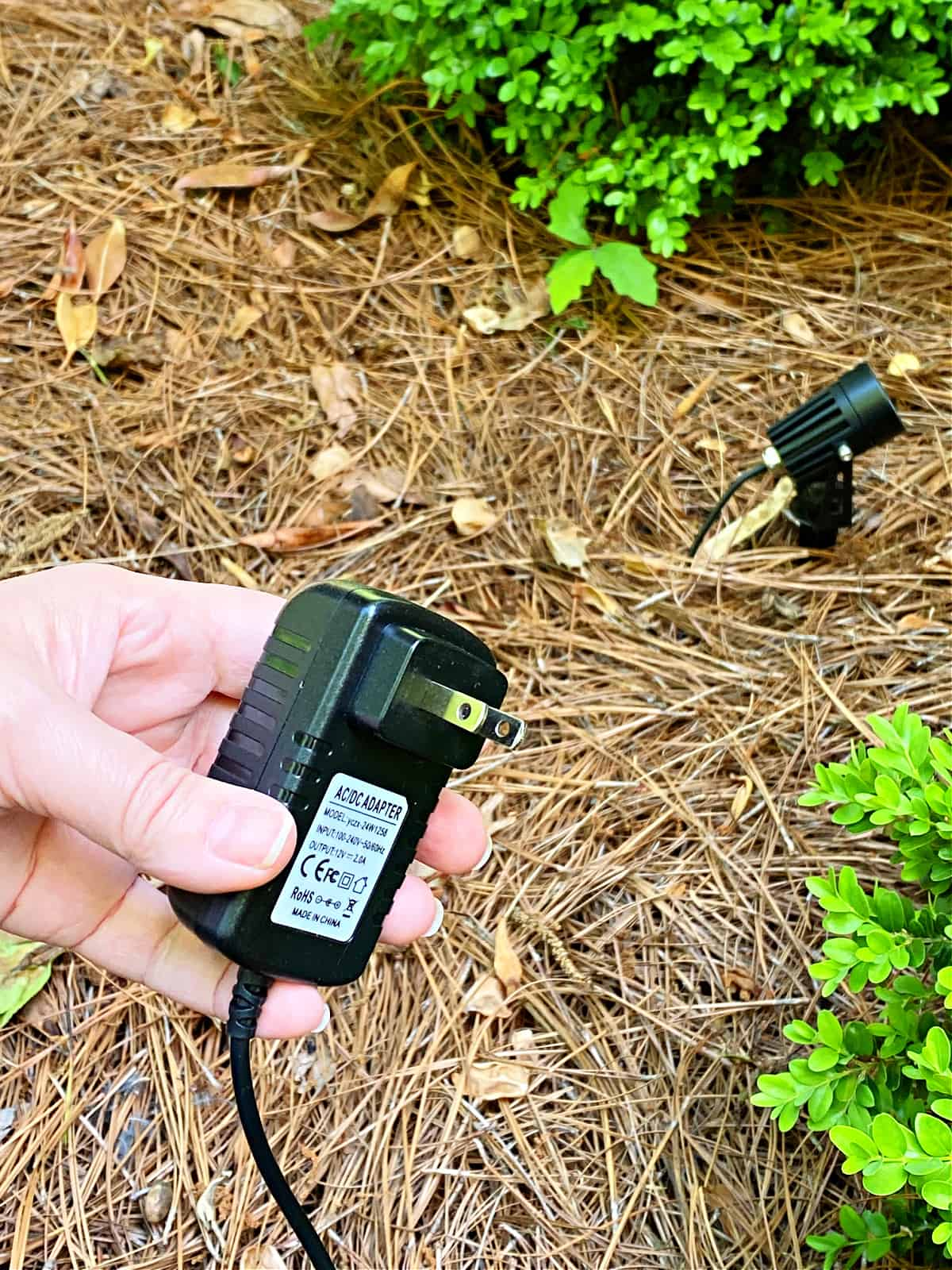 plug for landscape lights
